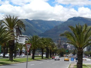 Hills around Quito