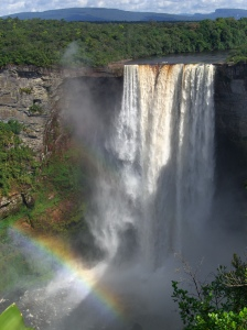 Kaiteur Falls, Guyana, a natural wonder