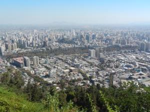Sprawling Santiago