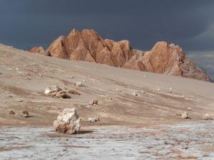 The moon? No, just Moon Valley in the Atacama desert