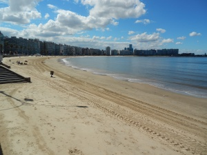 Beaches abound along the Montevideo coastline which most expats call their home away from home