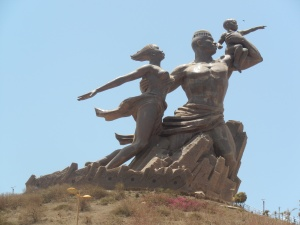 The African Renaissance Monument - the tallest statue in Africa