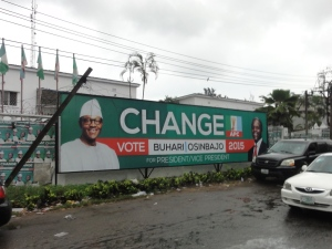 BBuhari's campaign was synonymous with 'change'