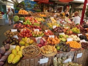 Fruit and veg galore at Munich's Viktualienmarkt