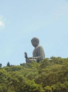 Lantau's famous Big Buddha