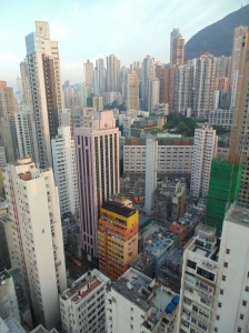 Hong Kong tower blocks
