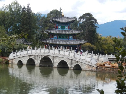 The postcard view of Lijiang