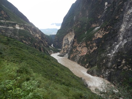 The awesome Tiger Leaping Gorge