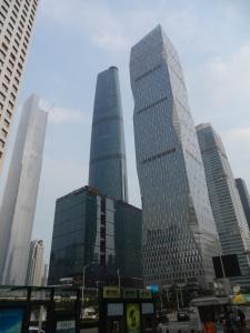 Guangzhou's highrises