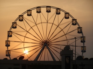 A Jeddah sunset