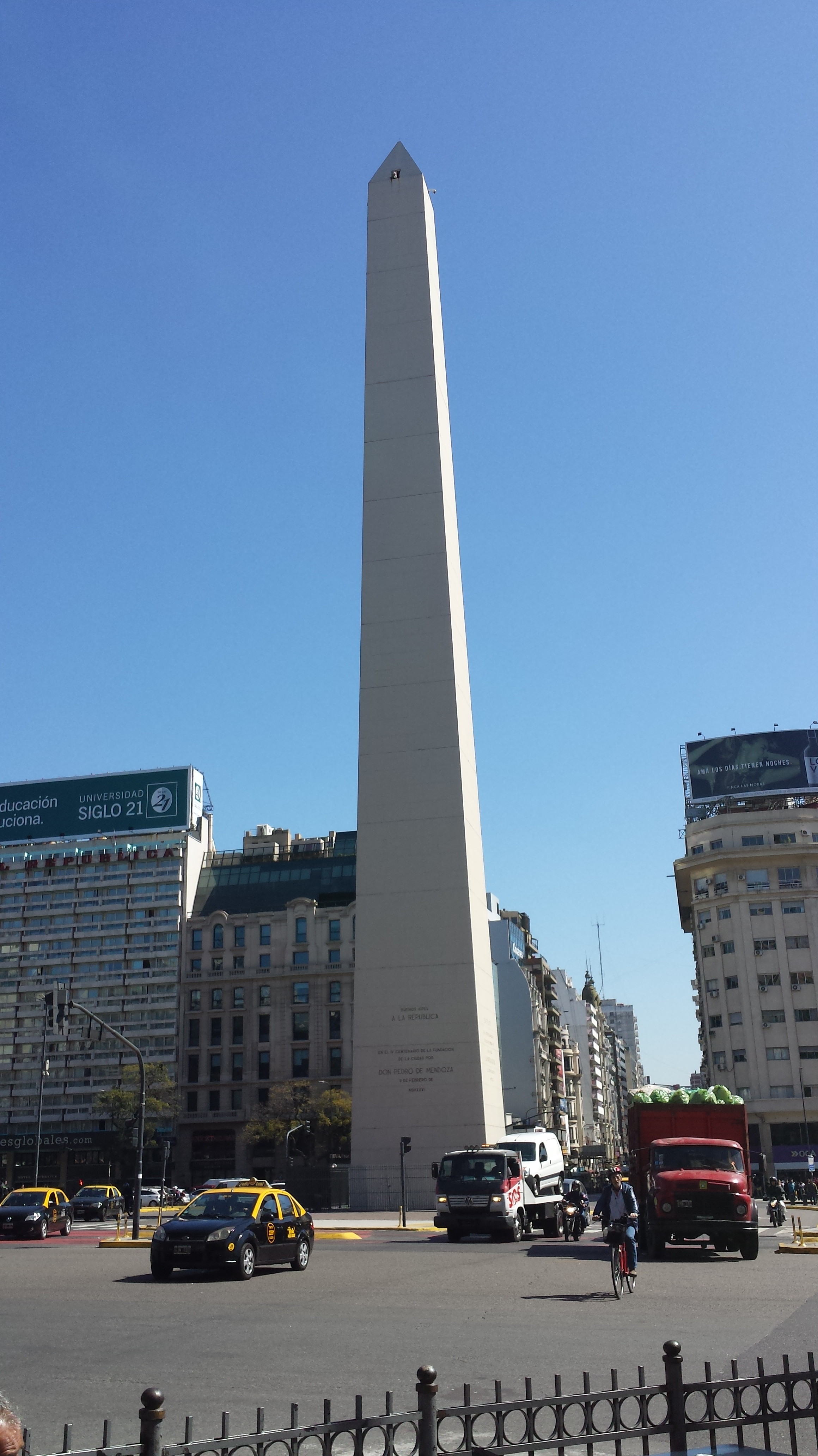 Wanderingmark notes from a travelling data collector for Obelisco buenos aires